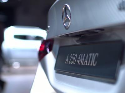 Mondial de l'Auto 2018 : la Mercedes Classe A250 4Matic Berline en vidéo