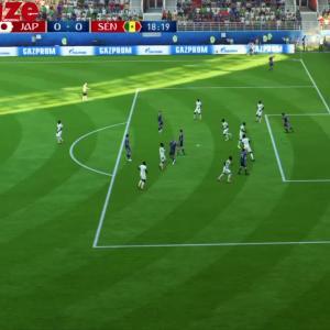 Japon - Sénégal : notre simulation sur FIFA 18