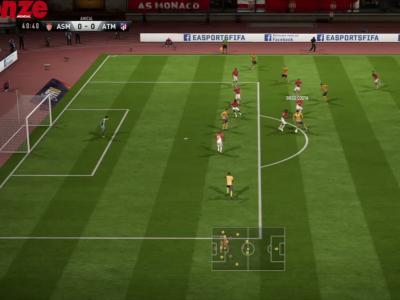Monaco - Atlético Madrid : simulation sur FIFA