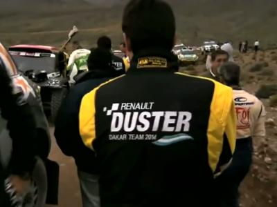 Deux Duster à moteur V8 seront engagés au Dakar