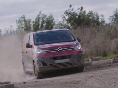 Le Citroën SpaceTourer se met en mode WRC
