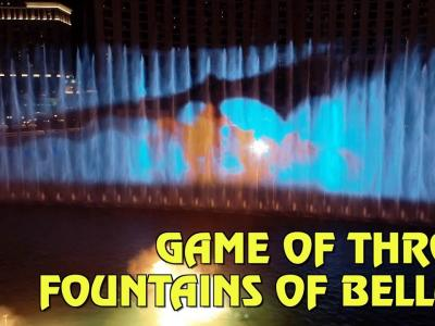 Game of Thrones : le spectacle des fontaines du Bellagio de Las Vegas en vidéo
