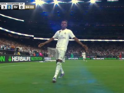 Real Madrid - Bayern Munich : le sublime coup-franc de Rodrygo
