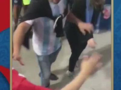 Des supporters argentins s'en prennent à des Croates