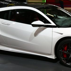 Mondial 2016 : Honda NSX