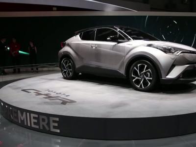Genève 2016 : Toyota C-HR