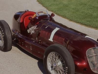 """La Maserati 8CTF """"Boyle Special"""" fête les 80 ans de sa victoire aux 500 Miles d'Indianapolis"""