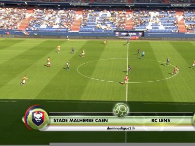 Domino's Ligue 2 : Lens fait une bonne affaire à Caen !