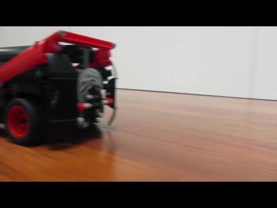 """Le van de """"L'agence tout risque"""" en Lego"""