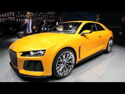 Francfort 2013 - Audi Sport Quattro Concept 2013