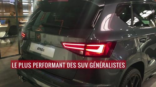 La Cupra Ateca en vidéo depuis le salon de Genève 2018