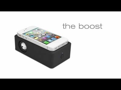 iFrogz Boost pour iPhone : le haut-parleur magique