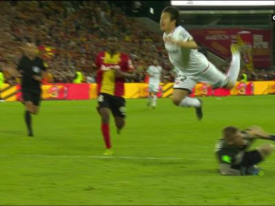 Barrage Ligue 1 Lens - Dijon : le but de Kwon Chang-hoon