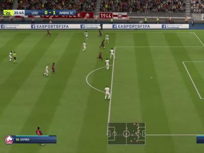 LOSC - Amiens SC sur FIFA 20 : résumé et buts (L1 - 37e journée)