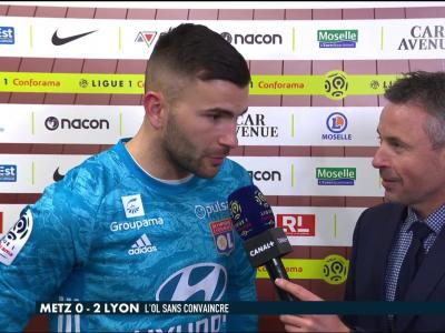 La réaction d'Anthony Lopes après Metz / OL - Late Football Club