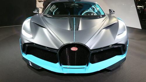 Mondial de l'Auto 2018 : la Bugatti Divo en vidéo