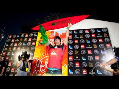 Gabriel Medina remporte le Quiksilver Pro Gold Coast 2014