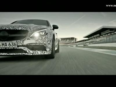 La Mercedes-AMG C 63 Coupé se déchaîne sur le Hockenheimring