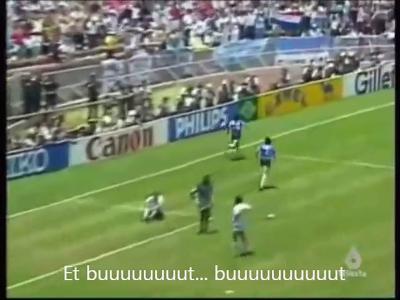 Le souvenir du jour : le but légendaire de Maradona