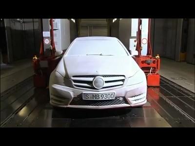 Mercedes possède un générateur de météo