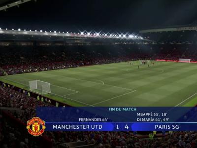 Manchester United - Paris SG : notre simulation FIFA 21 (5ème journée - Ligue des Champions)