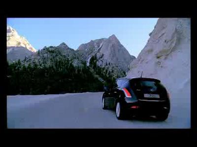 Lancia Delta sur la route