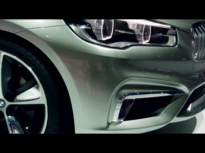 BMW Concept Active Tourer - Mondial 2012
