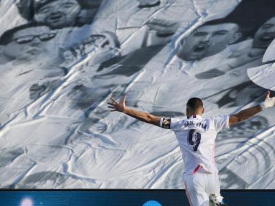 Real Madrid : les chiffres de la saison 2020-2021 de Karim Benzema