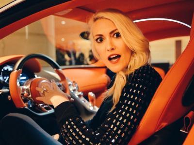 1 million de dollars d'option pour cette Bugatti Chiron !