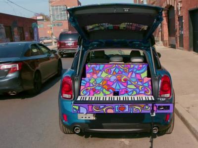 Un Mini Countryman pour un maxi piano