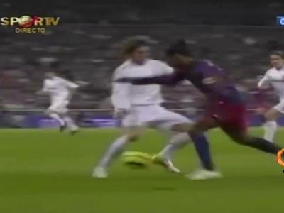 Le jour où le Bernabeu a applaudi Ronaldinho