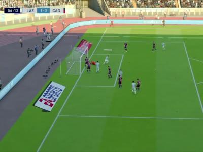 Lazio Rome - Cagliari Calcio sur FIFA 20 : résumé et buts (Serie A - 35e journée)