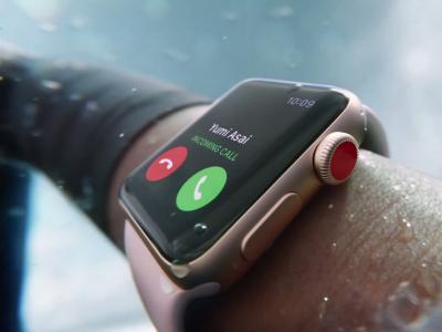 Apple Watch Series 3 : vidéo officielle de présentation de la montre connectée