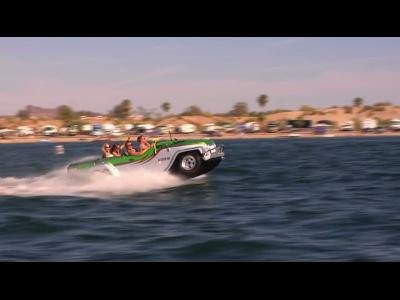 WaterCar : l'auto amphibie