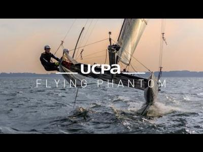 Le Flying Phantom à l'UCPA : des sensations Foil