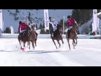 BMW Polo Masters Tour Courchevel 2014