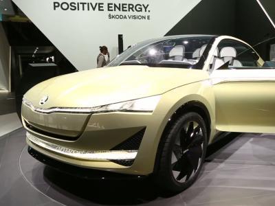 Francfort 2017 : Skoda Vision E Concept