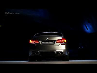 Shanghai 2011 : BMW M5 Concept