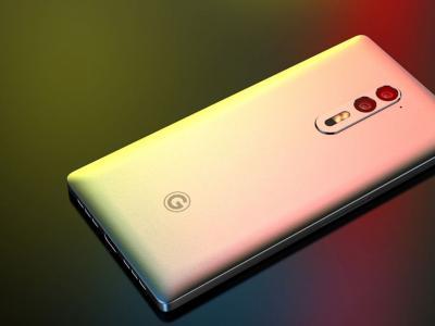 Concept du Google Pixel Phone avec une coque en métal