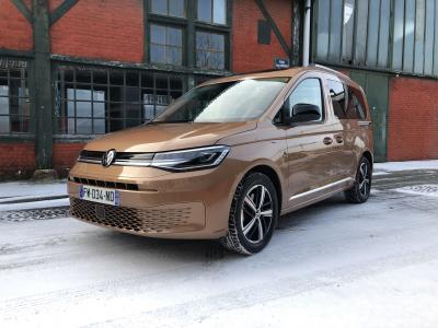 Essai du nouveau Volkswagen Caddy (2021) : 1er contact avec le ludospace de 5e génération