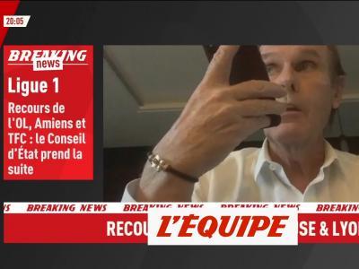 Joannin : «Je suis satisfait de la décision du tribunal administratif» - Foot - L1