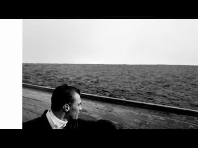 Sur la plage abandonnée de Prada Automne-Hiver 2012