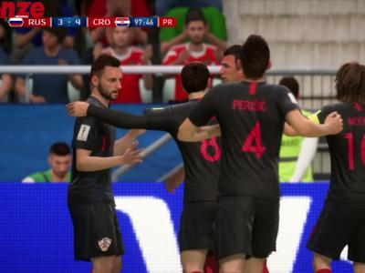 Russie - Croatie : notre simulation sur FIFA 18