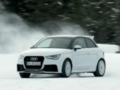 Leçons de drift en Audi A1 quattro