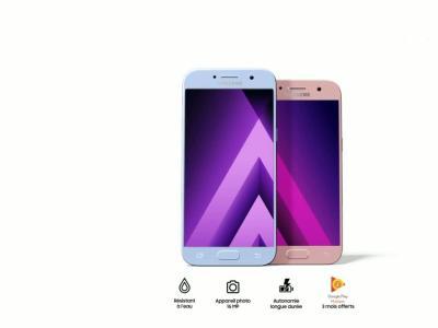 Samsung Galaxy A3 et A5 : vidéo officielle de présentation