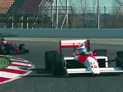 Inédit : Fernando Alonso pilote la McLaren d'Ayrton Senna
