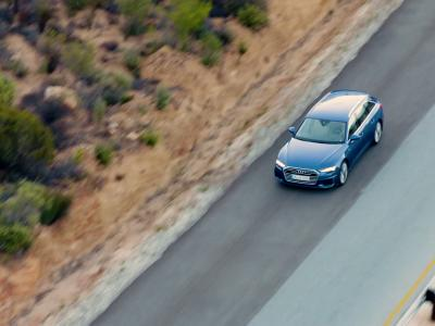 Audi A6 Avant:  d'agilité
