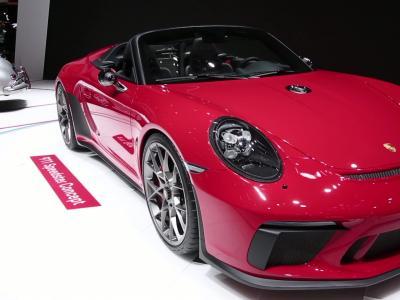 Mondial de l'Auto 2018 : la Porsche Speedster Concept en vidéo