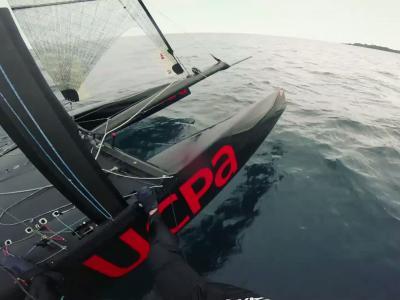 Zone d'entretien [S07E01] La catamaran à Foils par l'UCPA