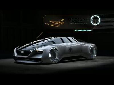 Audi présente le coupé futuriste de La Stratégie Ender en vidéo
